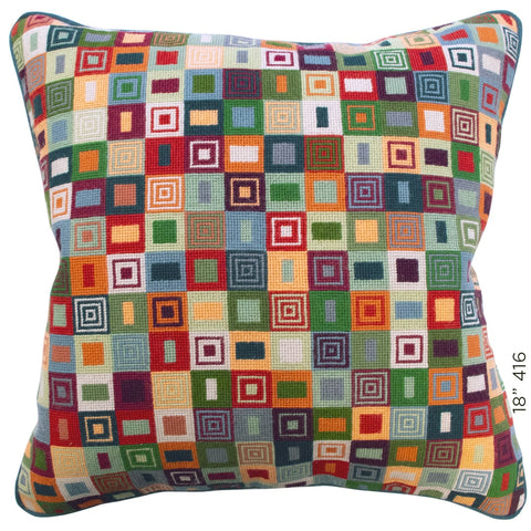 "18"" Geometric Cushion (416)"