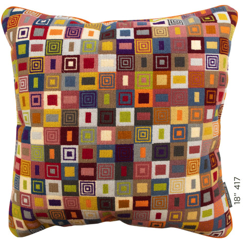 "18"" Geometric Cushion (417)"