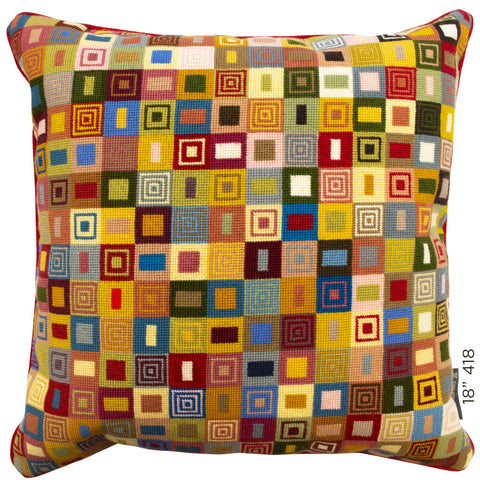 "18"" Geometric Cushion (418)"