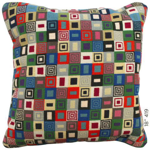 "18"" Geometric Cushion (419)"