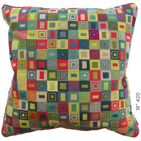 "18"" Geometric Cushion (420)"