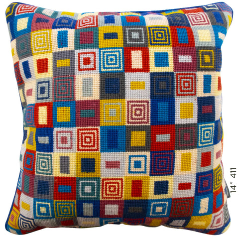"14"" Geometric Cushion (411)"