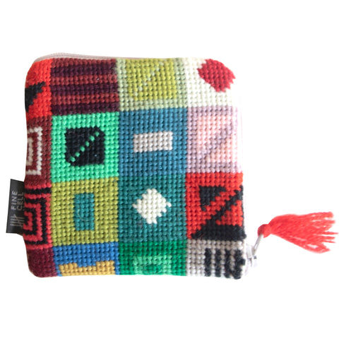 Geometric Pattern Purse
