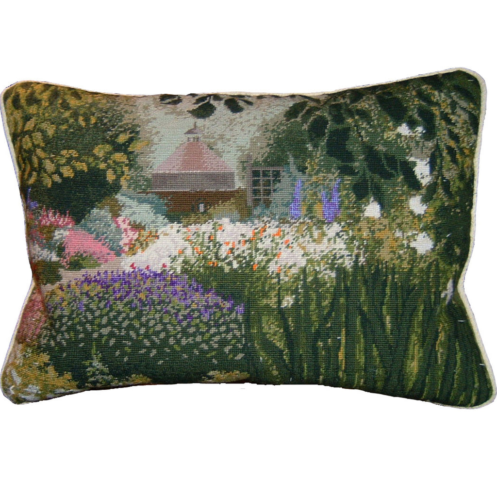 Commission your garden as a cushion