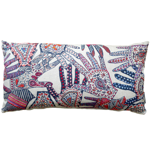 London College of Fashion Embroidered Hands Cushion