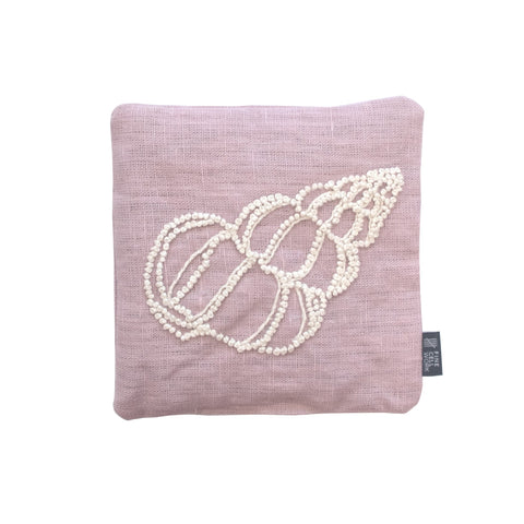 Melissa Wyndham Shell Cone Embroidered Lavender Bag Lilac