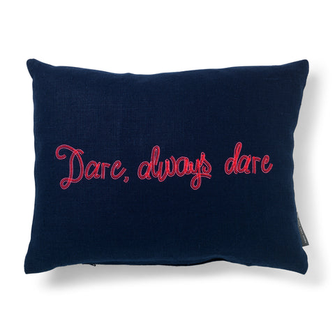 "The Old Vic ""Dare, Always Dare"" Cushion"