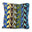 Margo Selby Tonga Hand Stitched Needlepoint Cushion in Blue Fine Cell Work featured George Clarke Old House New Home Channel 4