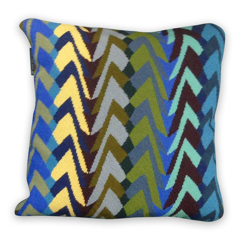 Margo Selby Tonga Cushion in Blue