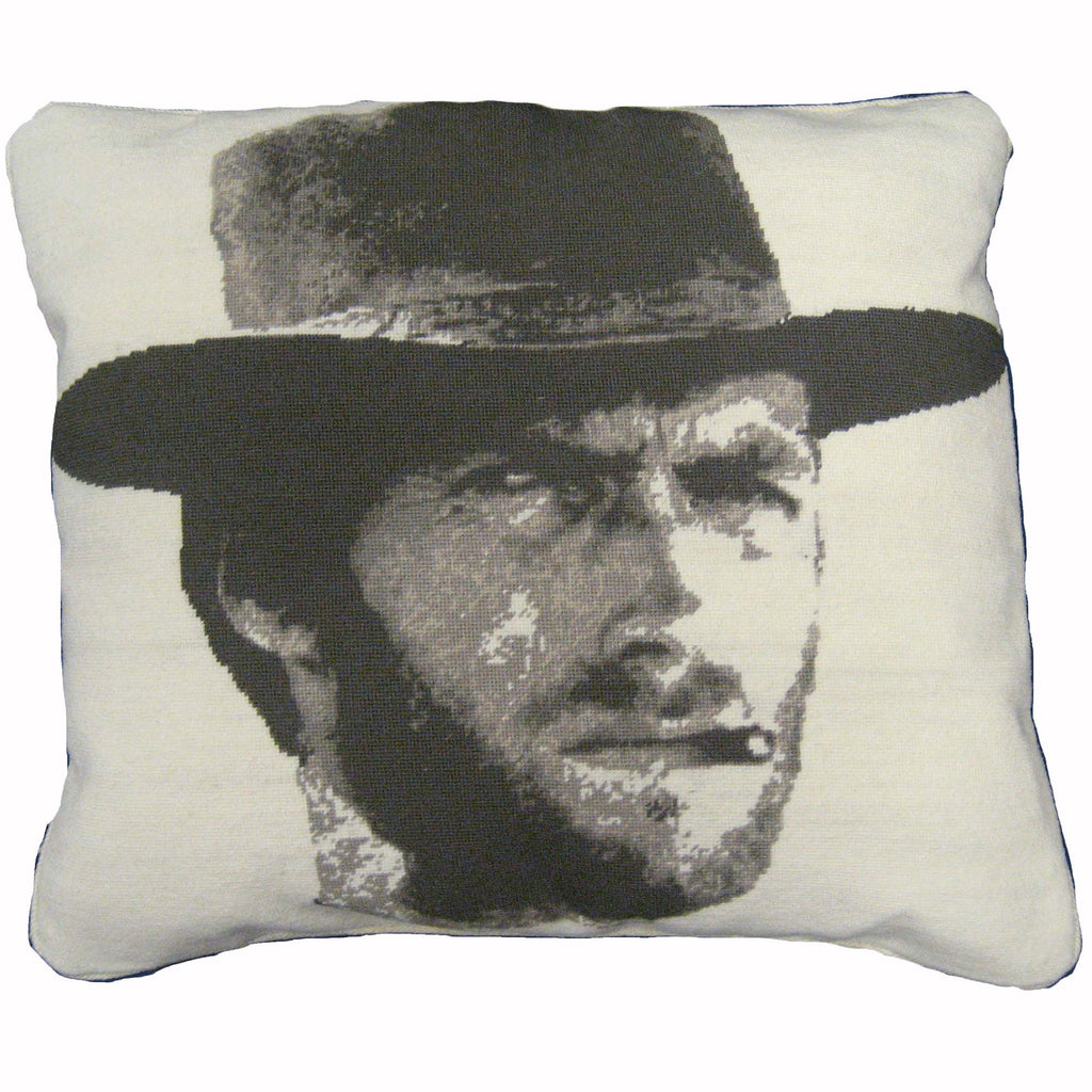 Clint Eastwood cushion