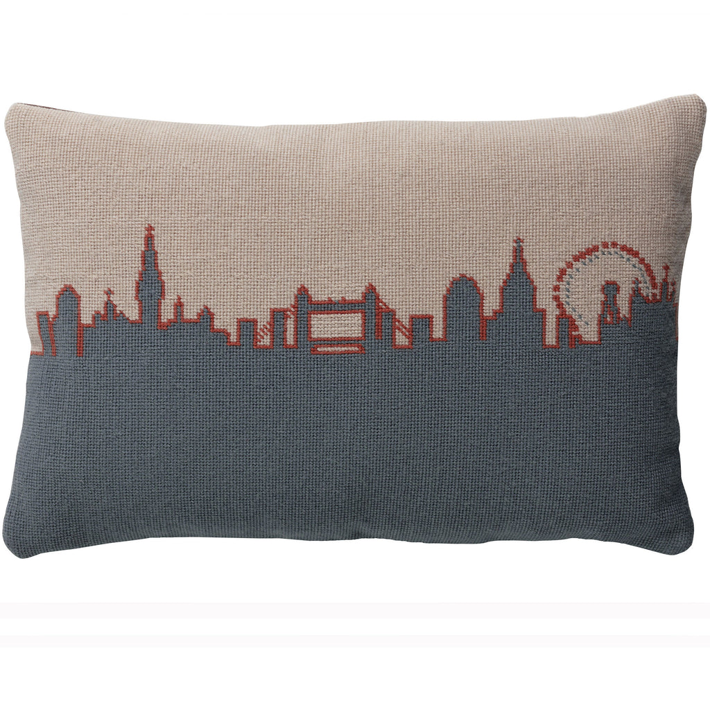 London Skyline cushion - Grey