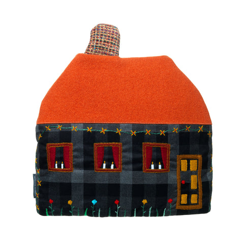 Large House Tea Cosy Fine Cell Work