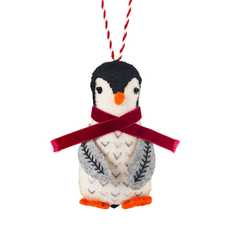 Handmade Christmas Decoration Sami The Penguin