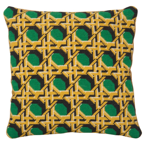 Pentreath & Hall Regency Caning Square - Green
