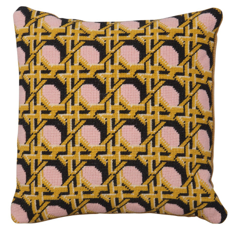 Pentreath & Hall Regency Caning Square - Pink