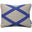 Neisha Crosland Pyramid Trellis Cushion Hyacinth Blue