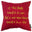 Dominic Cooper Shakespeare Quote 'A wise man knows himself to be a fool' Cushion