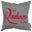 Dame Judi Dench Shakespeare Quote 'Readiness Is All' Cushion Red