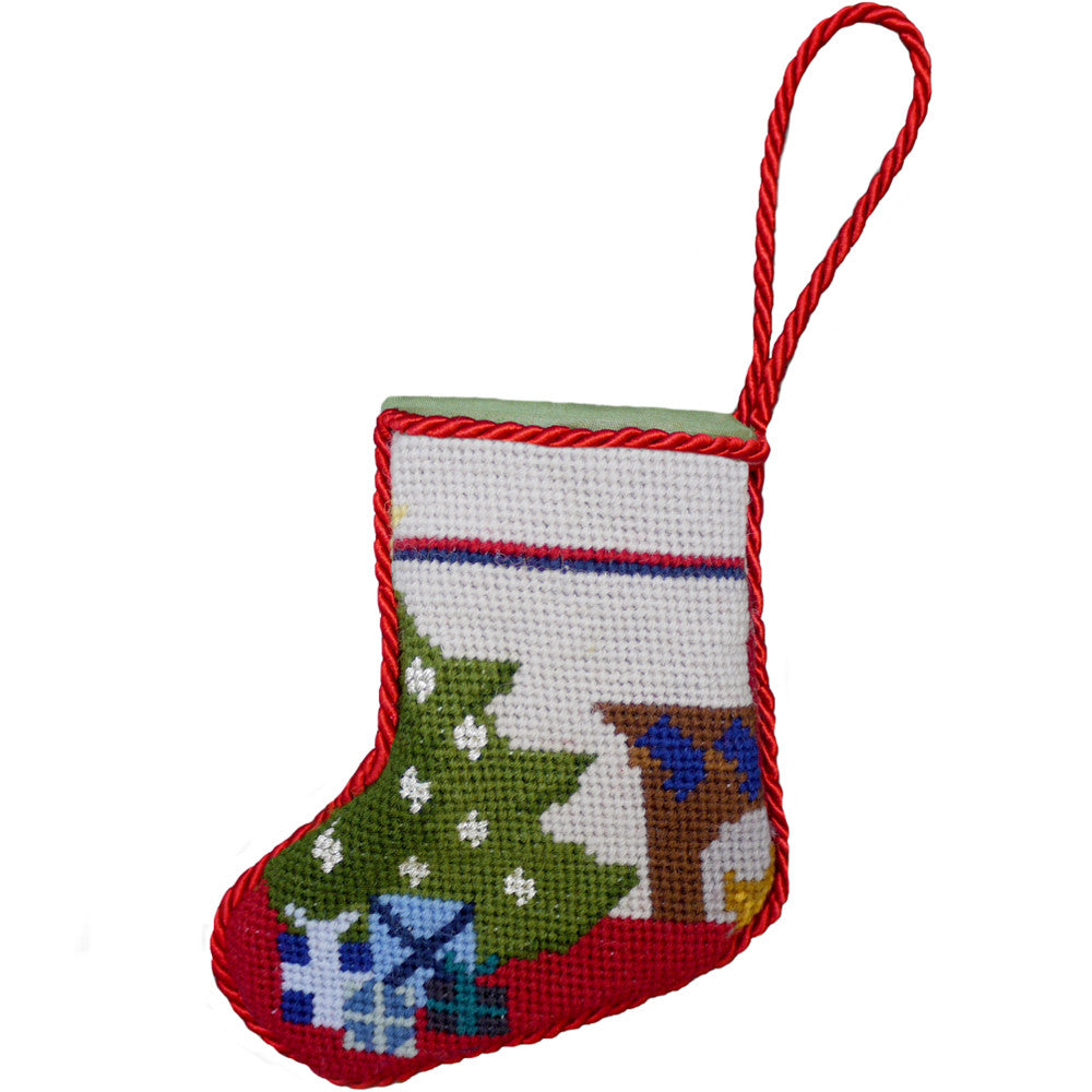 Handmade Christmas Stocking Decoration