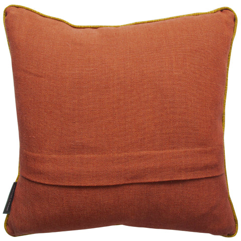 Shakespeare Quote 'A fool thinks himself to be wise. But a wise man knows himself to be a fool' Red Cushion