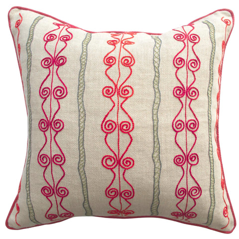 Melissa Wyndham Brunel Cushion Red and Green
