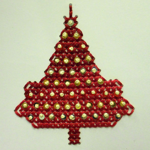 Handmade and Cross-Stitch Charity Christmas Card
