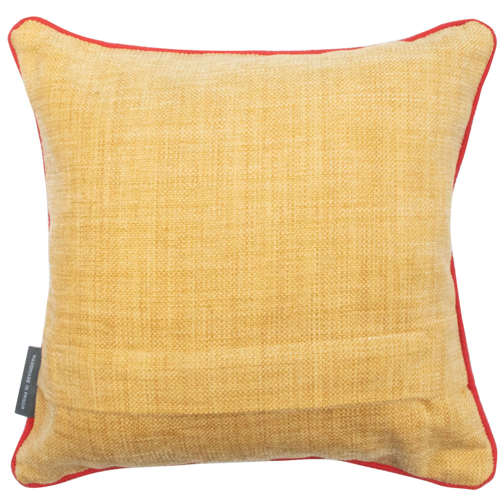 Geometric Multicoloured Cushion Medium