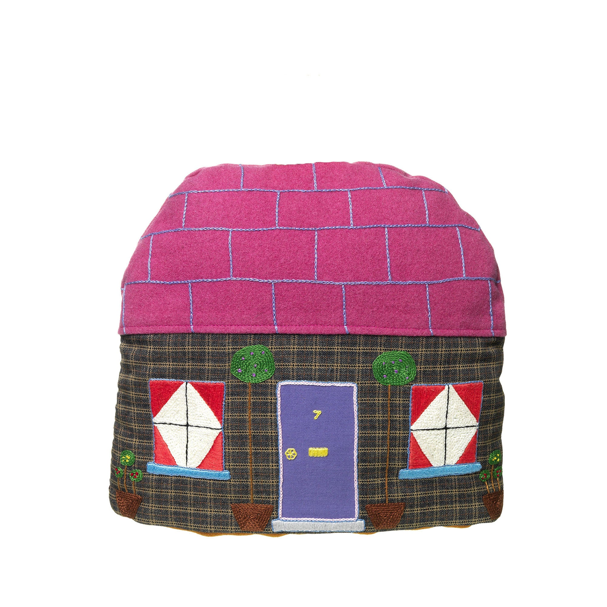 Small Handmade House Tea Cosy