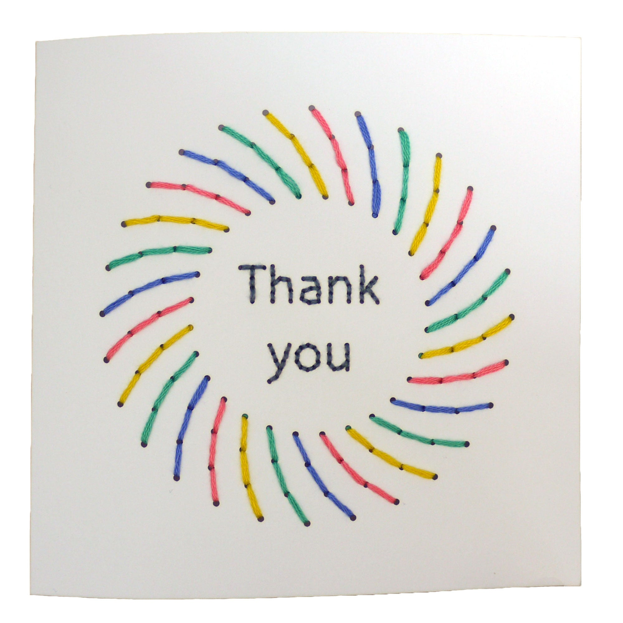 Handmade Thank You Card