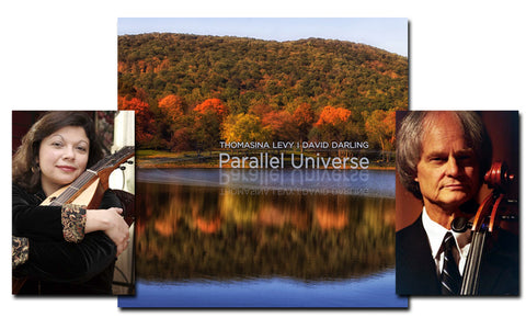 "New from Hearts of Space Records: Thomasina Levy & David Darling ""Parallel Universe"""