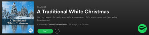 A Traditional White Christmas | Spotify Playlist