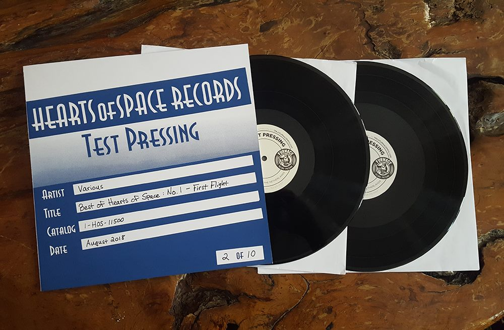 """Best of Hearts of Space, No. 1 - First Flight"" Vinyl Test Pressings"