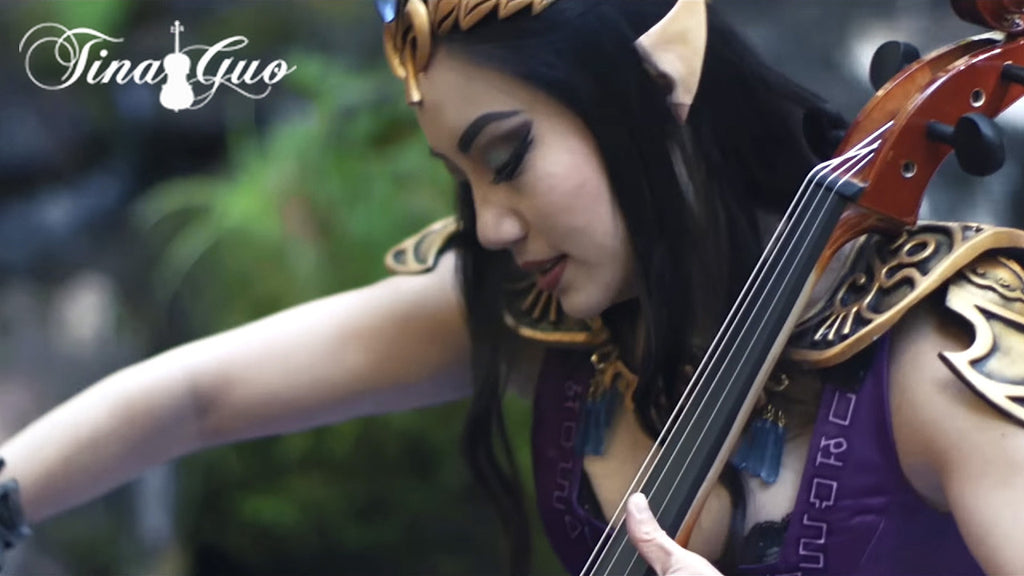 "New Music Friday: Tina Guo - ""Game On!"""