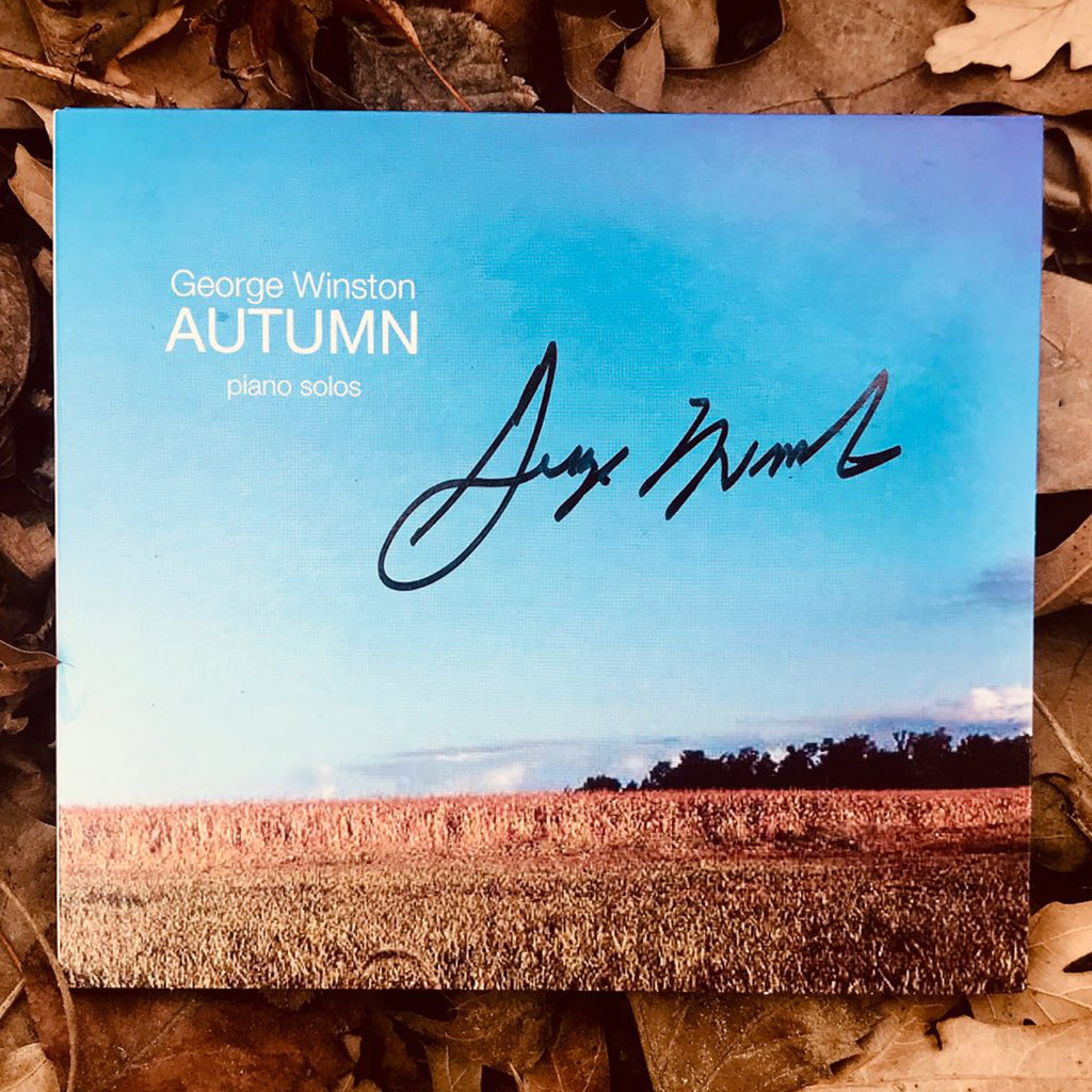 George Winston - Autumn Autographed CD