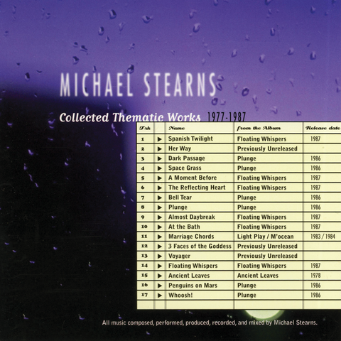 Michael Stearns - Collected Thematic Works (1977-1987)