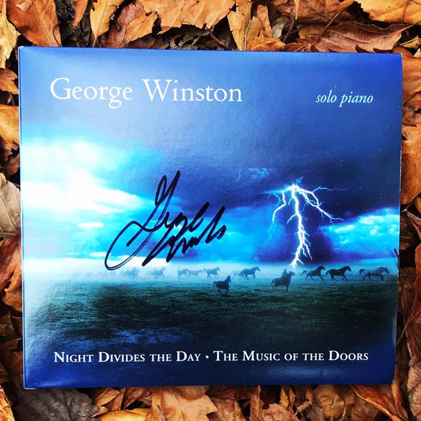 George Winston - Night Divides the Day: The Music of The Doors Autographed CDs