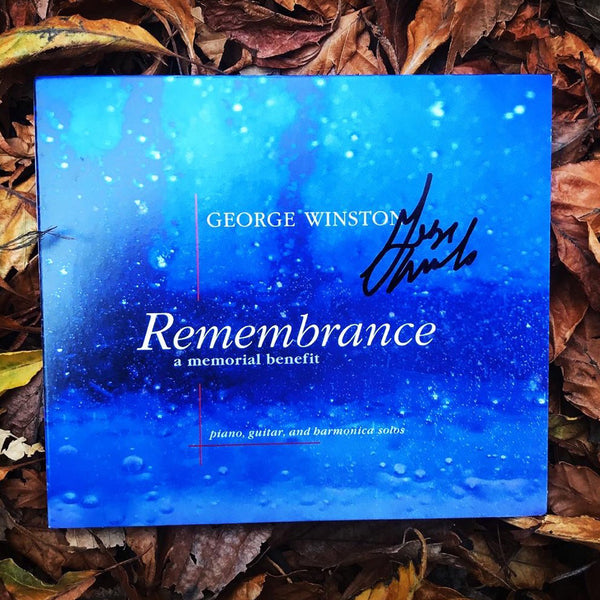 George Winston - Remembrance: A Memorial Benefit: Special Edition Signed CD