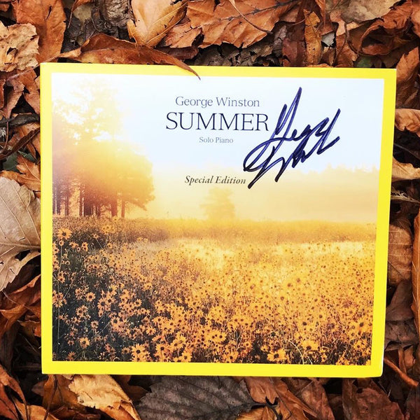 George Winston - Summer: Special Edition Autographed CD