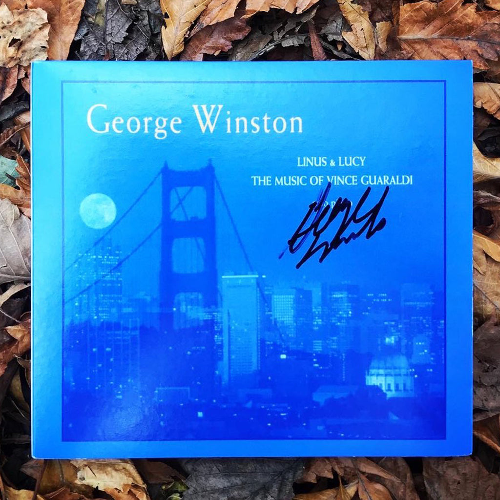 George Winston - Linus & Lucy: The Music of Vince Guaraldi Autographed CD