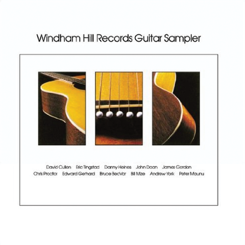 Various Artists - Windham Hill Guitar Sampler
