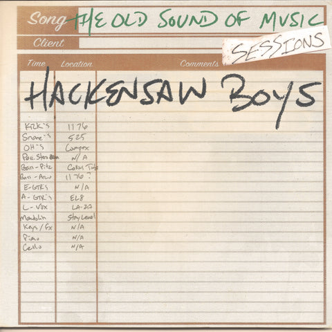 Hackensaw Boys - The Old Sound of Music Sessions