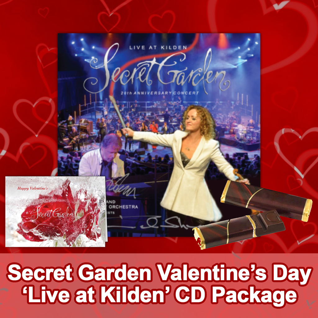 Valentine's Day Package: Secret Garden - Live at Kilden: 20th Anniversary Concert