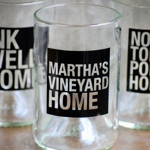 Martha's Vineyard Island Home Tumblers
