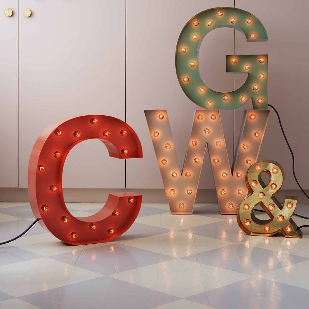 Cirkuslampan - Shop Original letter lights