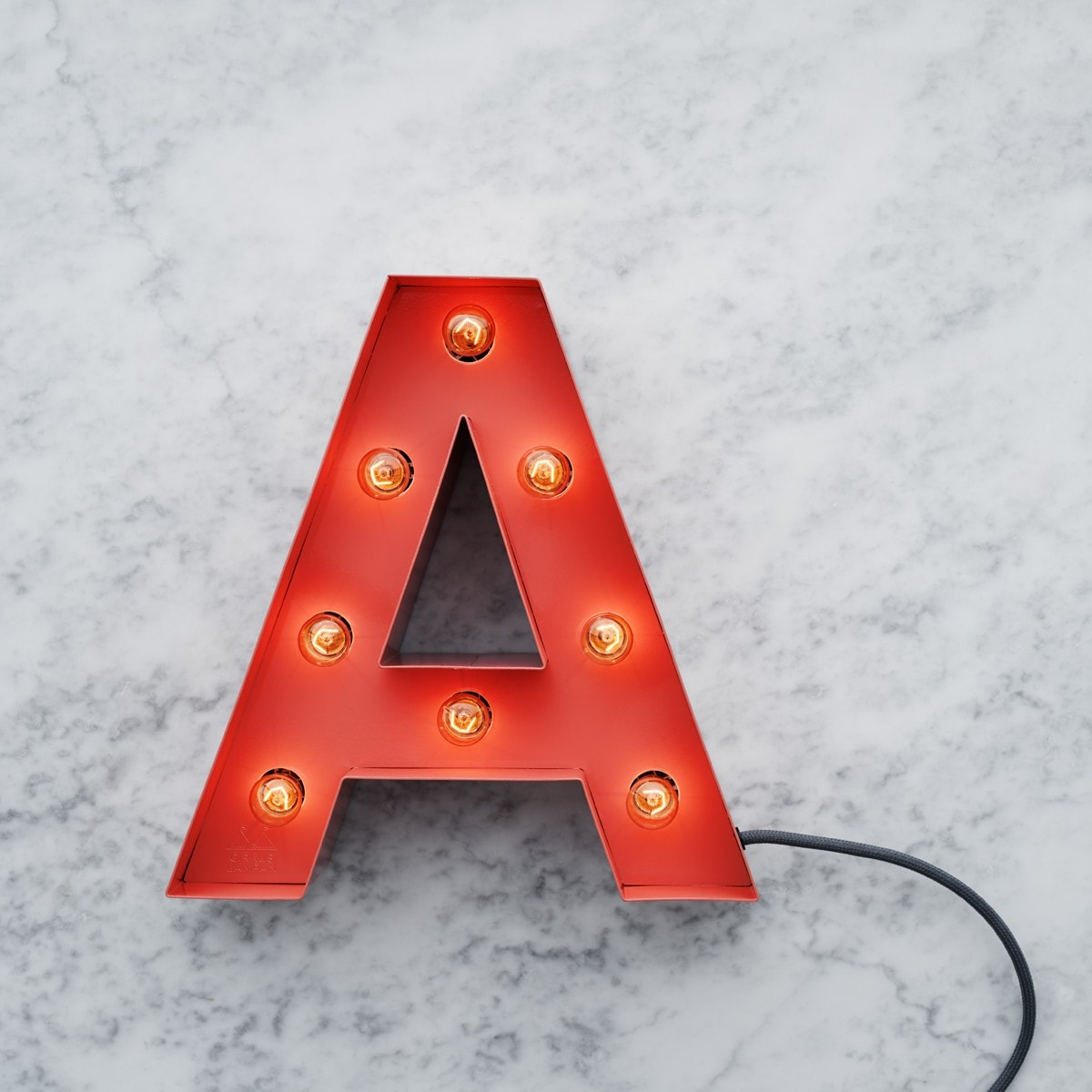 Cirkuslampan - Shop small letter lights