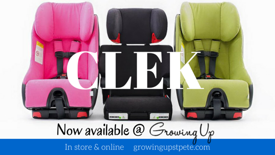 New to Growing Up- Clek car seats!