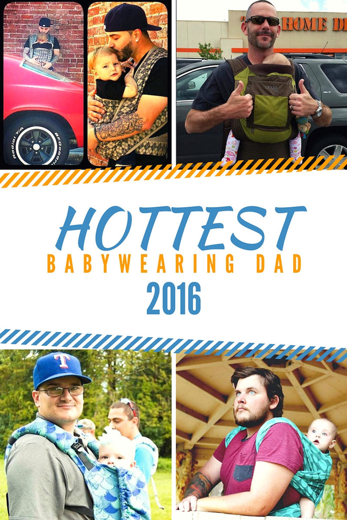 Vote for Growing Up's Hottest Babywearing Dad!