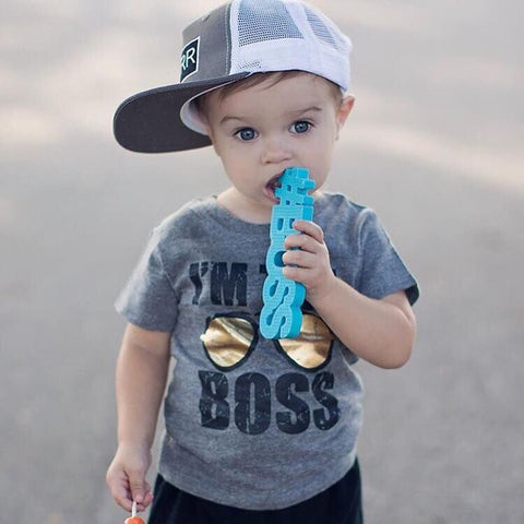 TeetheWord Teethers - Boss Blue