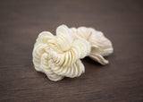 "Sola Wood Flowers - 1.5"" Spiral Flower (10 pack)"