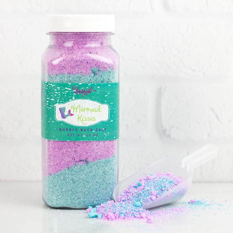 Leebrick Bubble Bath Salt - Mermaid Kisses